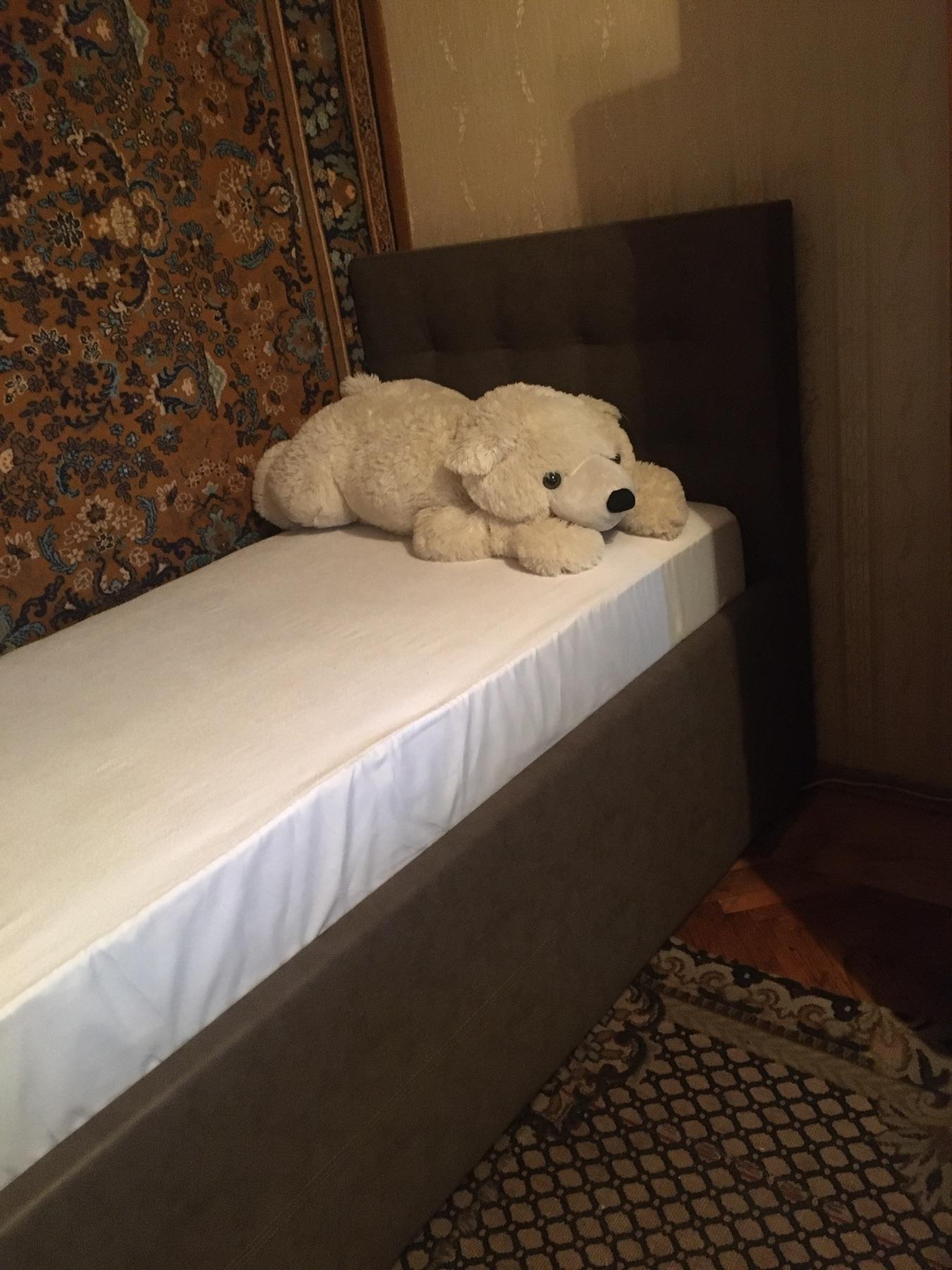 """Односпальная кровать """"Гера"""" с подъемным механизмом 90*200"""
