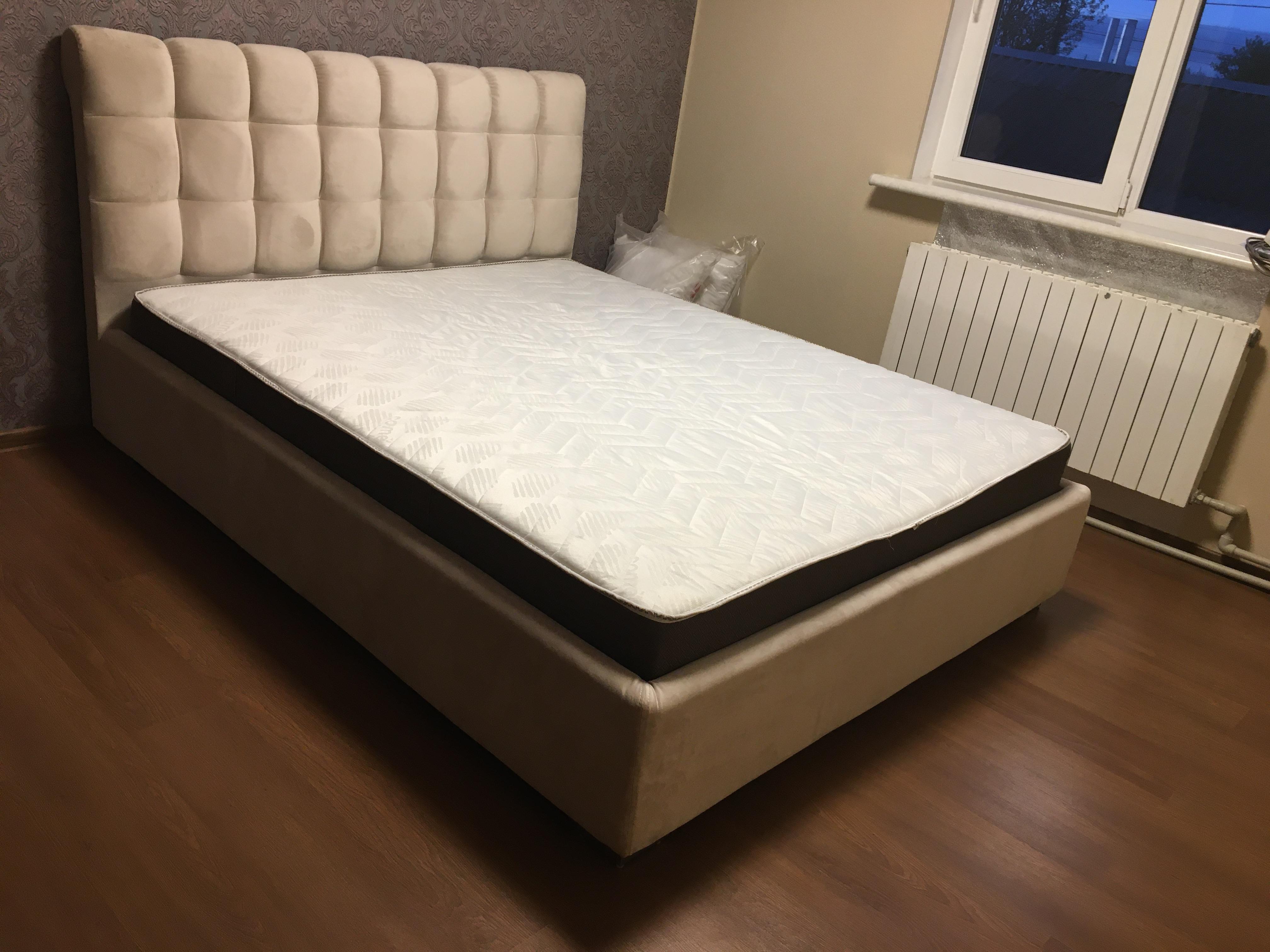 """Двуспальная кровать """"Кантри"""" с подъемным механизмом 160*200"""