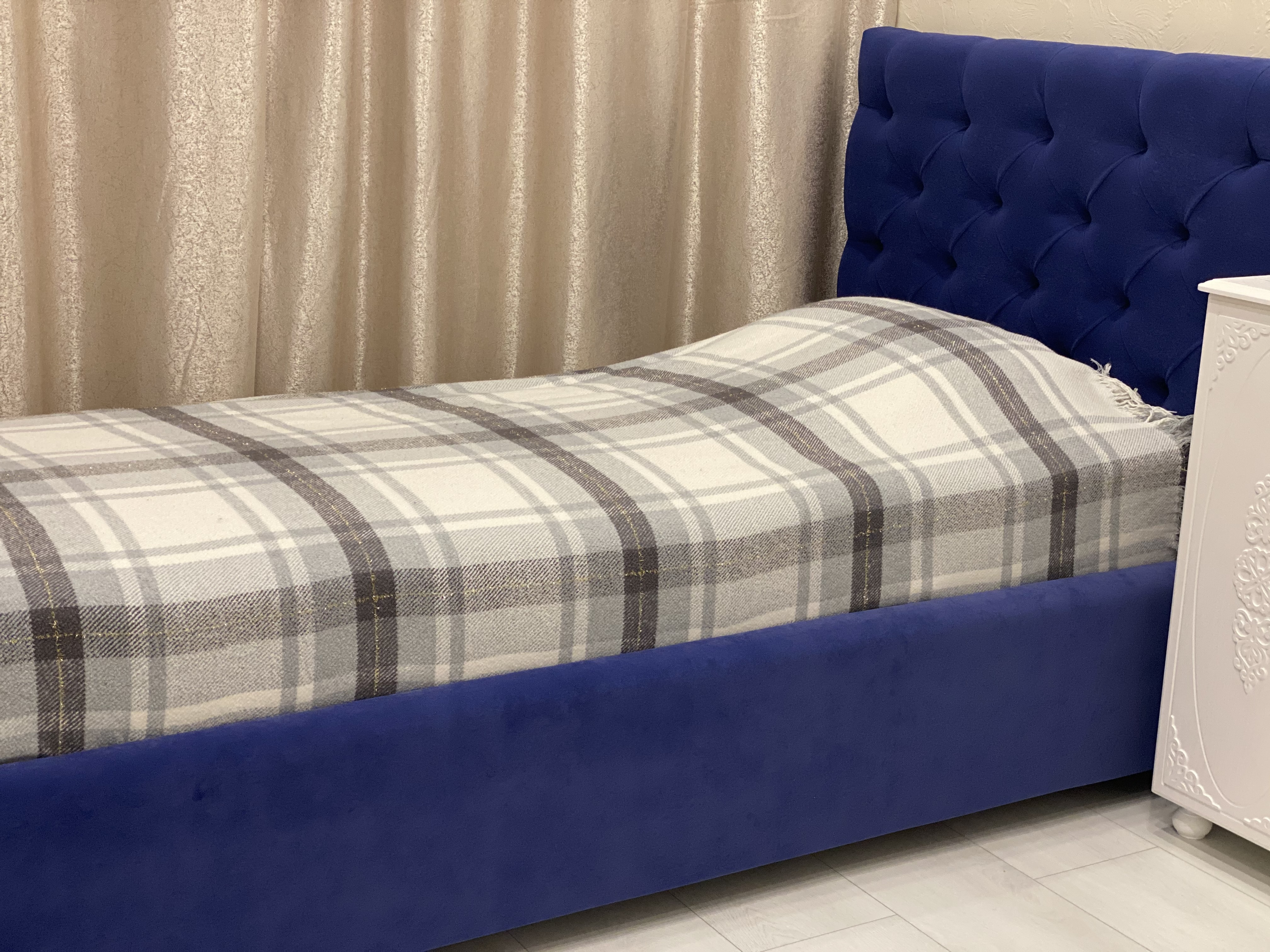 """Односпальная кровать """"Борно"""" с подъемным механизмом 90*200"""