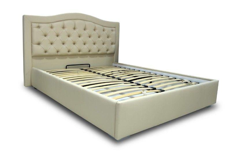"""Двуспальная кровать """"Квин"""" с подъемным механизмом 200*200"""