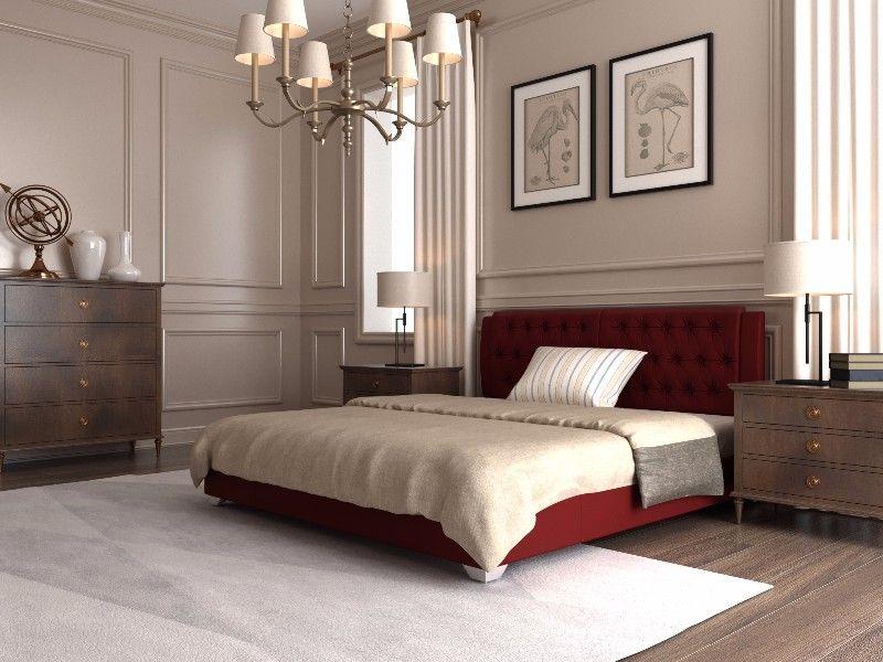 """Двуспальная кровать """"Тиффани"""" с подъемным механизмом 200*200"""