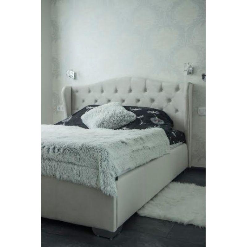 """Двуспальная кровать """"Ретро"""" без подьемного механизма 160*200"""