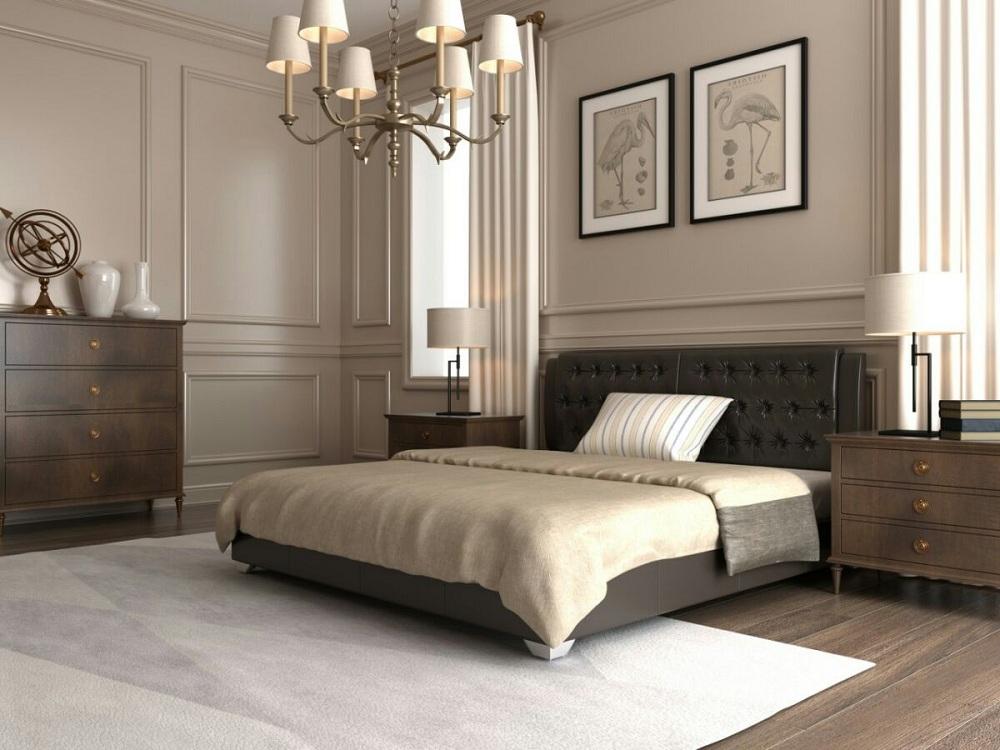 """Полуторная кровать """"Тиффани"""" без подъемного механизма 120*200"""