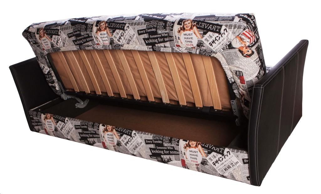Диван-кровать Joy (Джой) с подлокотниками