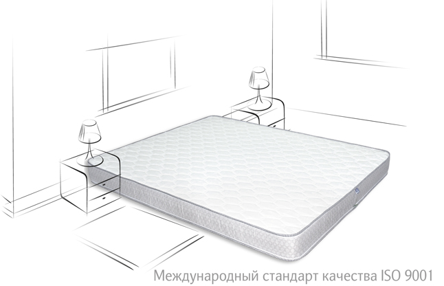 Беспружинный матрас Neolux Neoflex Duo (Дуо)