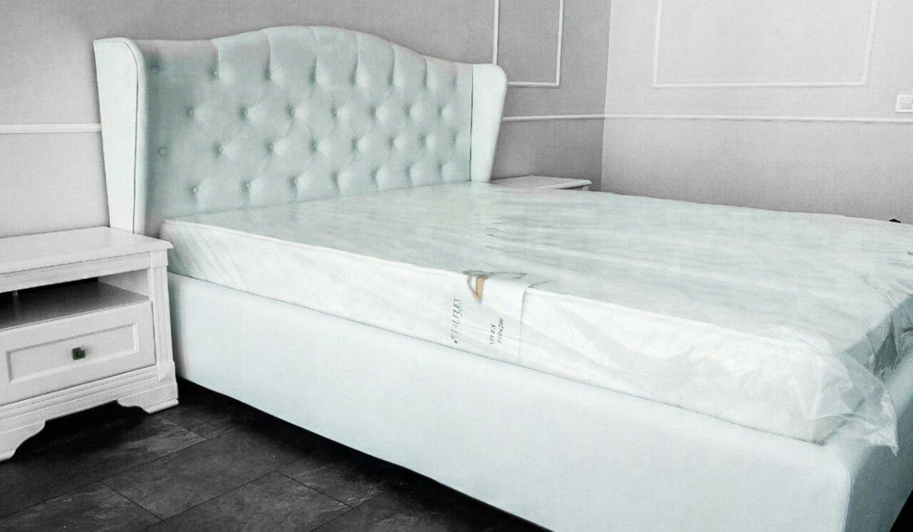 """Двуспальная кровать """"Ретро"""" с подъемным механизмом 160*200"""