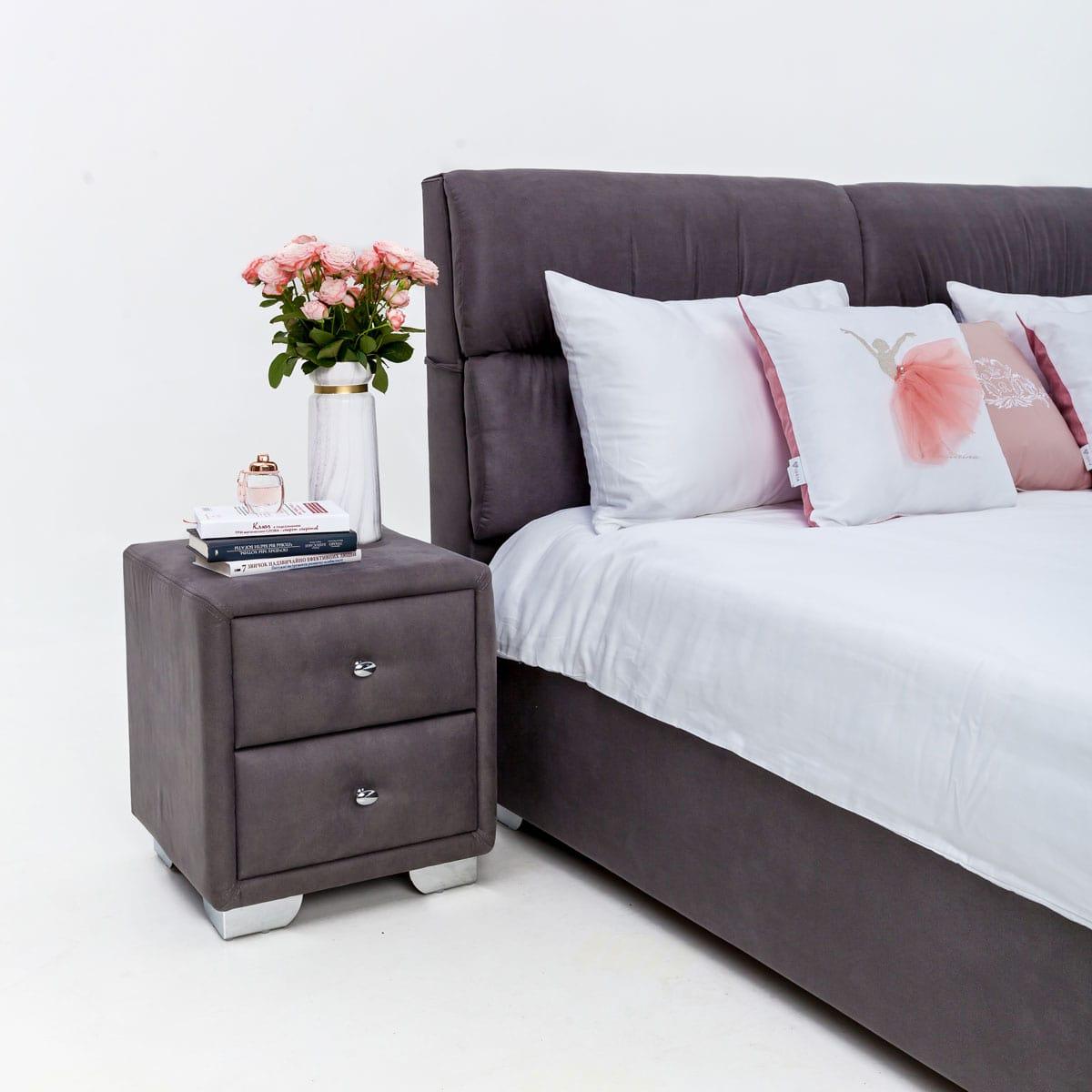 """Двуспальная кровать """"Манчестер"""" без подьемного механизма 160х200"""