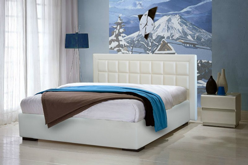 """Полуторная кровать """"Спарта"""" с подъемным механизмом 140*200"""