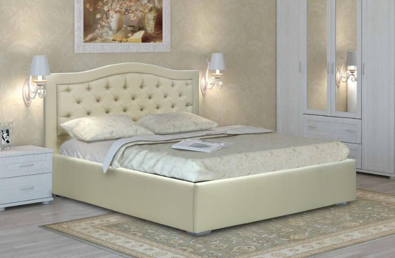 """Двуспальная кровать """"Квин"""" без подьемного механизма 160*200"""