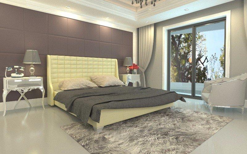 """Полуторная кровать """"Медина"""" без подъемного механизма 140*200"""