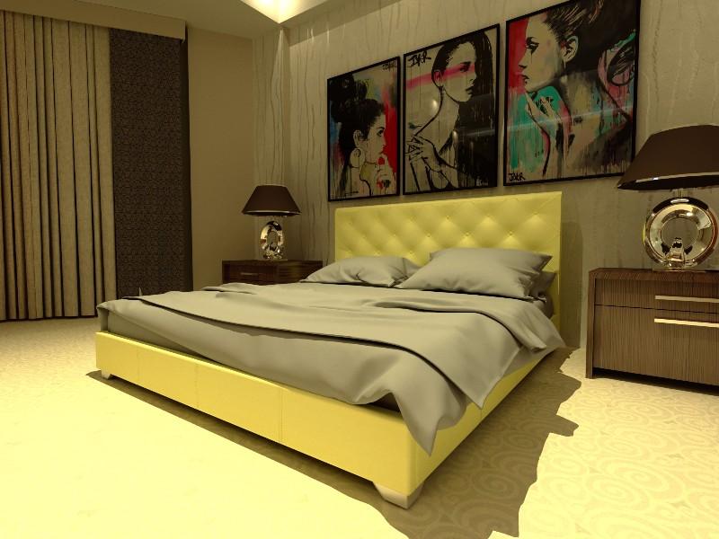 """Двуспальная кровать """"Морфей"""" без подьемного механизма 180*200"""