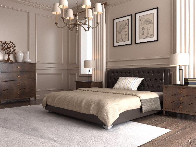 """Двуспальная кровать """"Тиффани"""" без подъемного механизма 180*200"""