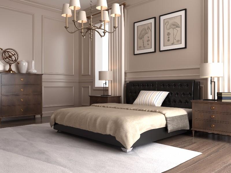 """Полуторная кровать """"Тиффани"""" с подъемным механизмом 140*200"""