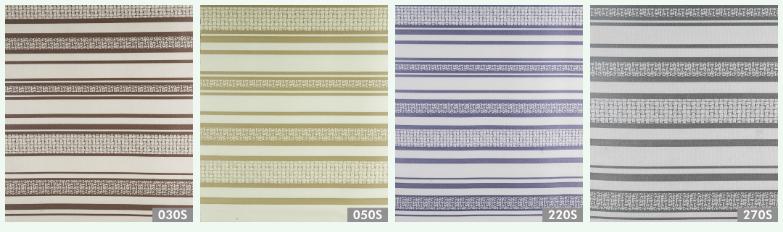 Велюр с печатью Премиум Страйп (Premium Stripe), ширина 145 см
