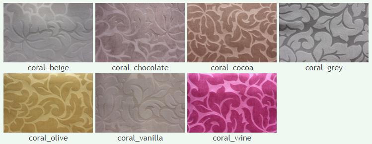 Рогожка Корал (Coral), ширина 140 см