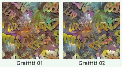 Скотчгард Канзас Граффити (Kansas Graffiti), ширина 140 см