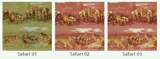 Велюр Белла Сафари (Bella Safari), ширина 143 см
