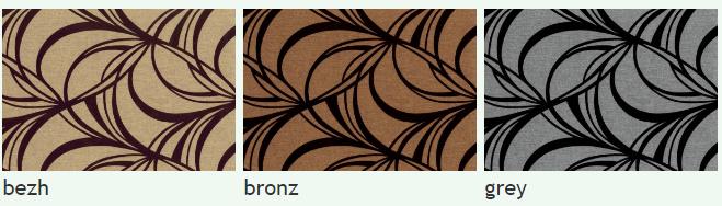 Флок на ткани Маура А, ширина 140 см