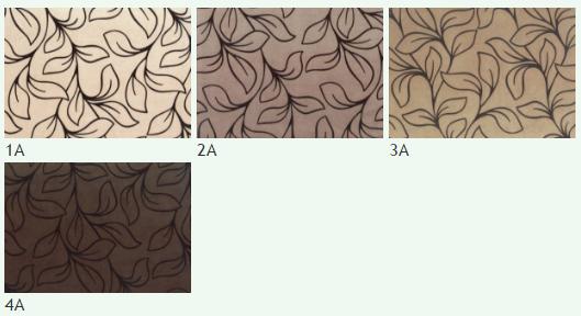 Флок на ткани Нимфа А, ширина 140 см