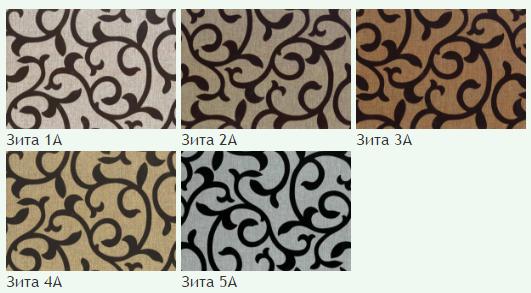 Флок на ткани Зита А, ширина 140 см