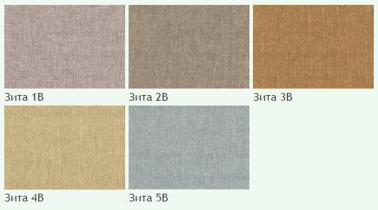Флок на ткани Зита В, ширина 140 см